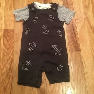 Anchor overall set NWOT